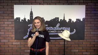 Tess Tregellas Stand Up at Industry Room