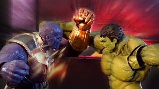 Avengers Stop Motion - Thanos Fight