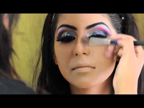 Asian Bridal Hair and Makeup Arabic Inspired. By Zaiba Khan