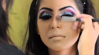 asian bridal hair and makeup arabic inspired by zaiba khan