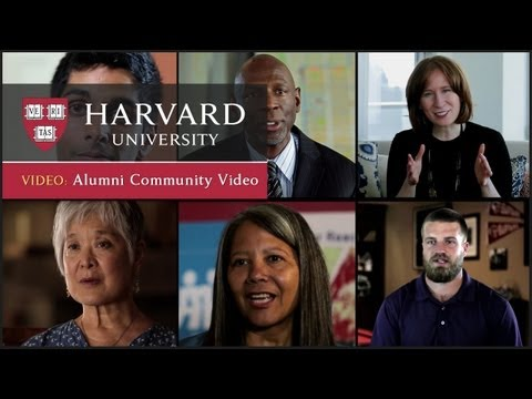 Harvard Alumni Community Video