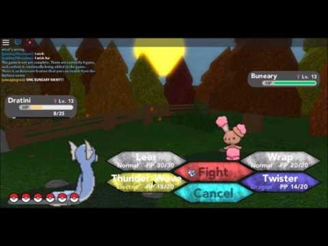 Roblox Pokemon Brick Bronze Shiny Buneary Shiny Hunt 1 Youtube