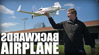 backwards airplane   flite test