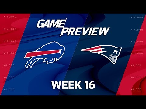 Buffalo Bills vs. New England Patriots | NFL Week 16 Game Preview | NFL Playbook
