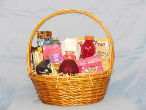 Gifts for runners 262 marathon gift basket youtube negle Choice Image