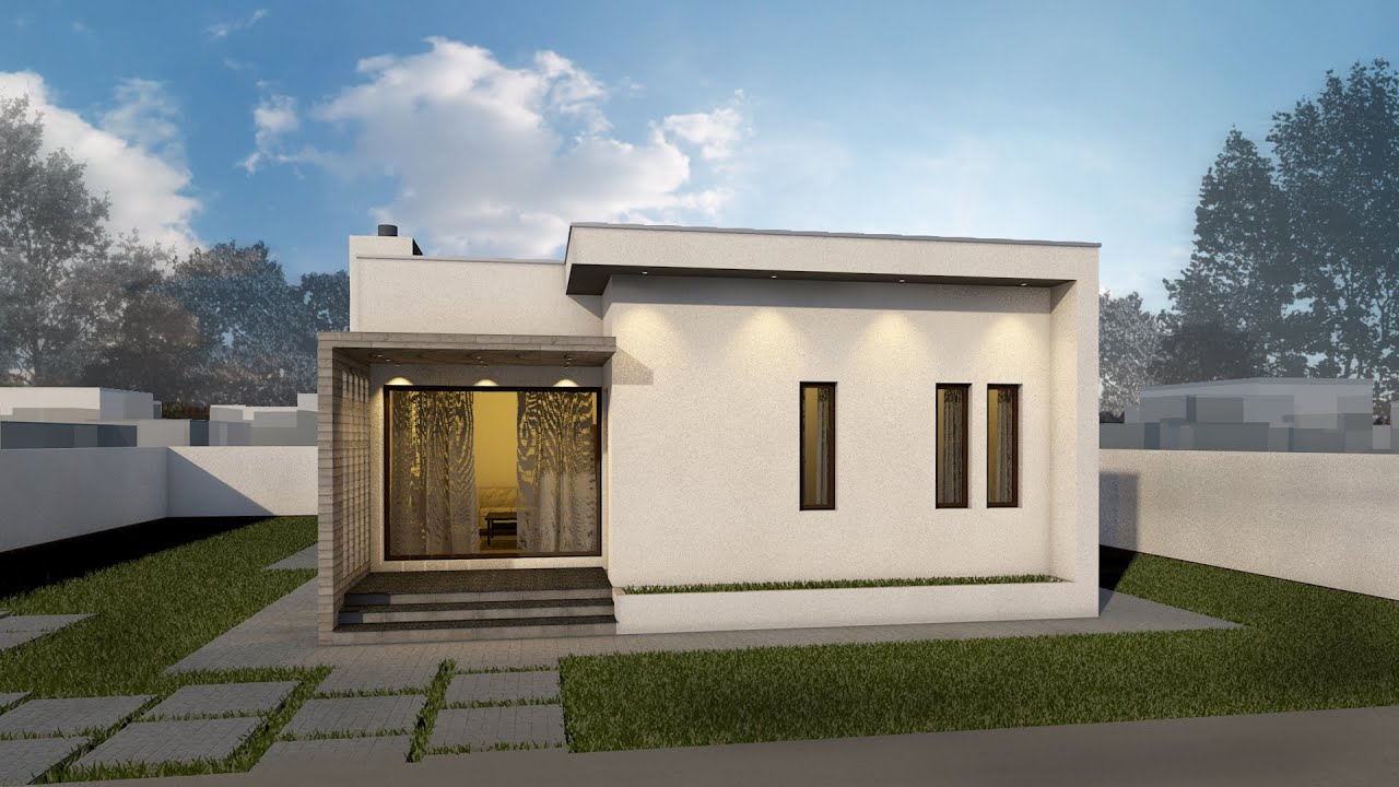 Proiect casa minimus parter 3 camere 88 mp v2 for Case parter 3 camere