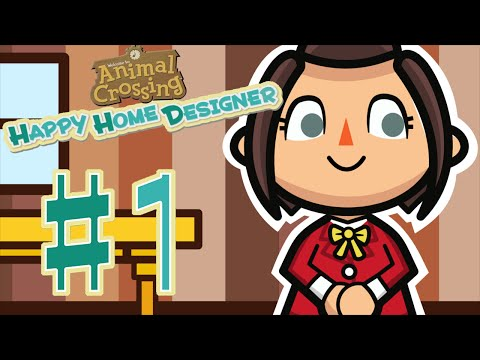 Let's Play Animal Crossing: Happy Home Designer - #1 Time to Work!