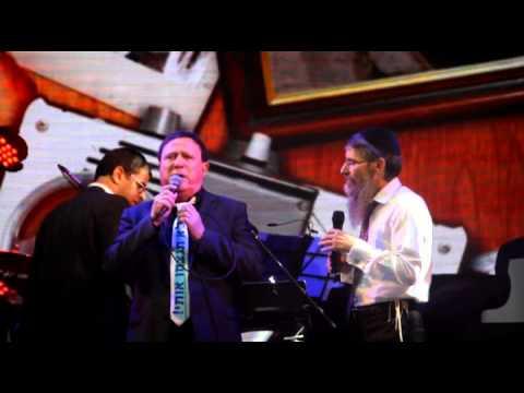 אברהם פריד ויהורם גאון בהופעה בבריכת הסולטן קיץ 2014