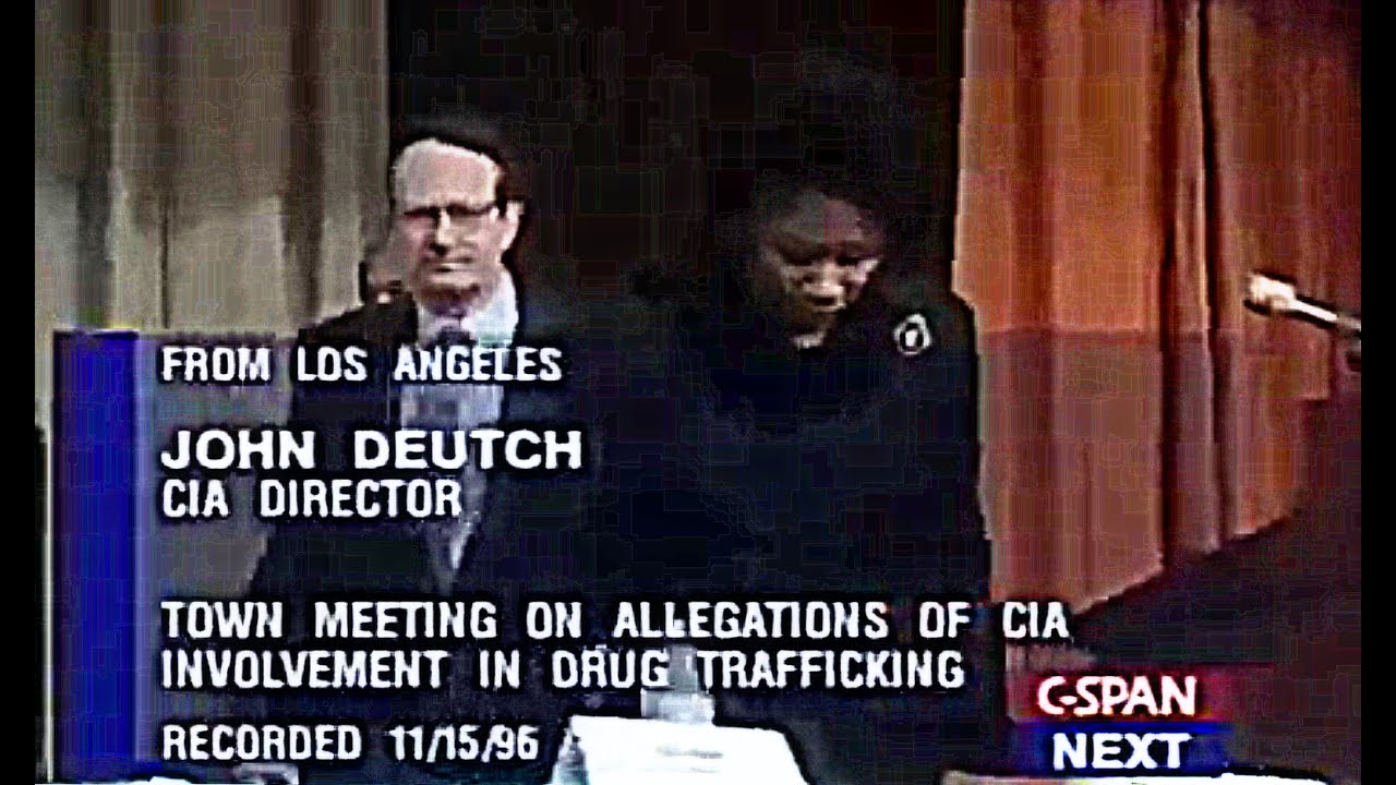 CIA Involvement in Cocaine Trafficking/Distribution in America, CIA Director Takes Questions