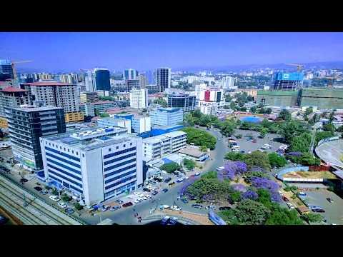 Addis Ababa (አዲስ ኣበባ) - Capital da Etiópia