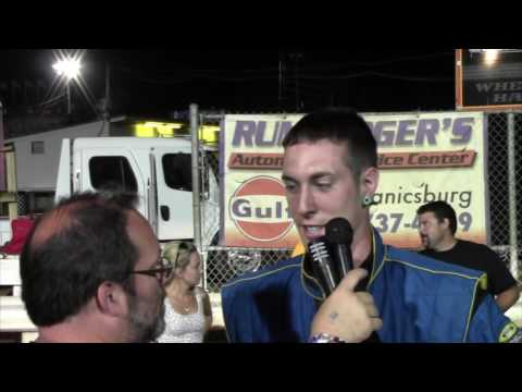 Williams Grove Speedway 305 Sprint Car Victory Lane 7-01-16