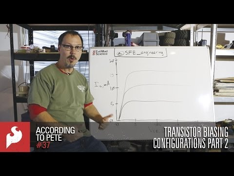 SparkFun According to Pete #37: Transistor Biasing Configurations Part 2