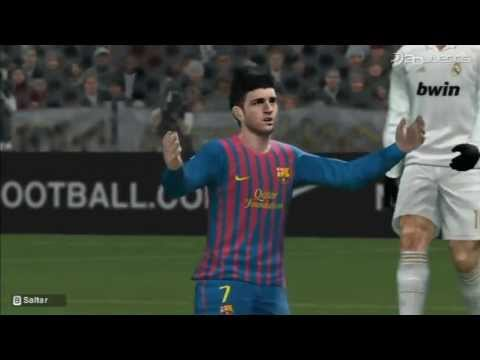 PES 2012 Wii Gameplay