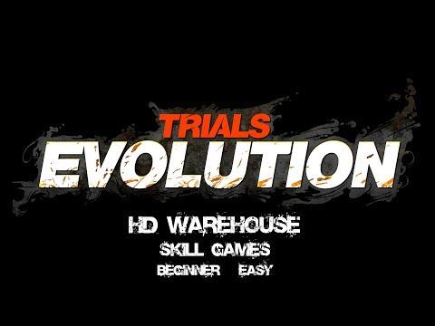 Trials Evolution : Gold Edition - 13 - HD Warehouse - Skill Games - Beginner,Easy  