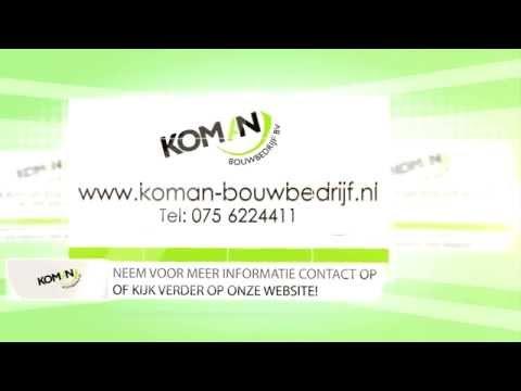 Koman Bouwbedrijf Krommenie, nieuwbouw, aanbouw, dakopbouw, dakkapel, kozijnen