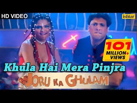 Khula Hai Mera Pinjra Full Song | Joru Ka Gulam | Govinda & Rakhi Sawant | Kumar Sanu, Alka Yagnik