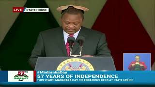Uhuru leads Madaraka Day fete - VIDEO