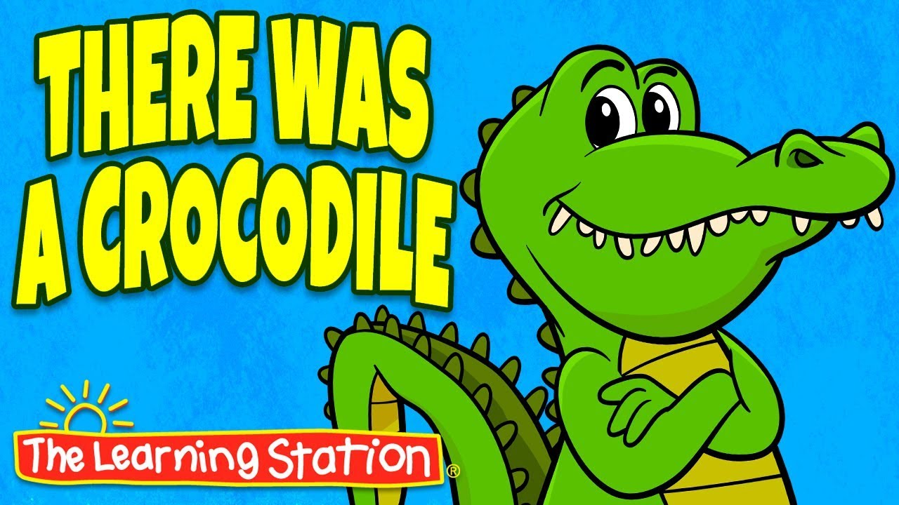 There Was A Crocodile Song Action Songs For Kids Brain Breaks