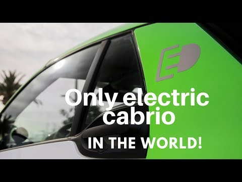 2018 smart fortwo electric drive cabrio in San Diego with Lauren Fix #thecarcoach