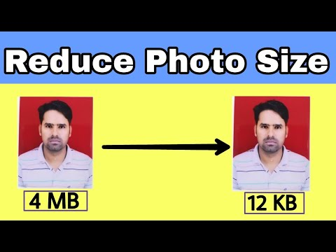 How To Reduce Photo Size In Mobile | Study Channel