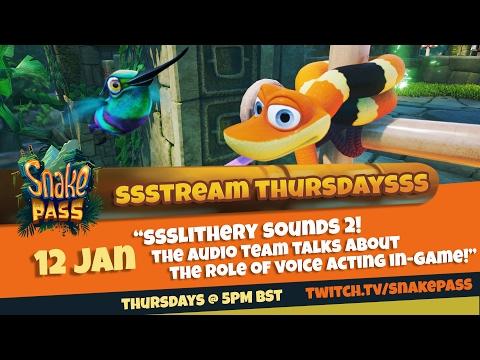 Stream Thursdays Ep12 - Slithery Sounds 2 ¦ Snake Pass