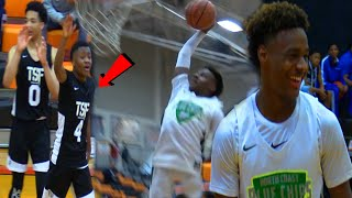 BRONNY COMES UP CLUTCH! - Blue Chips First Game Of The YEAR!