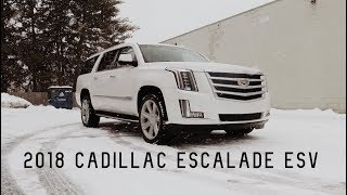 2018 Cadillac Escalade ESV Full Review & Test Drive