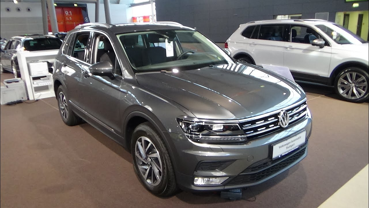 2018 volkswagen tiguan sound bluemotion 1 4 exterior and interior autotage stuttgart 2017. Black Bedroom Furniture Sets. Home Design Ideas