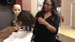 How To Restore A Curly Wig