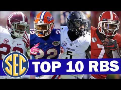 Top 10 SEC Running Backs for the 2019 College Football Season