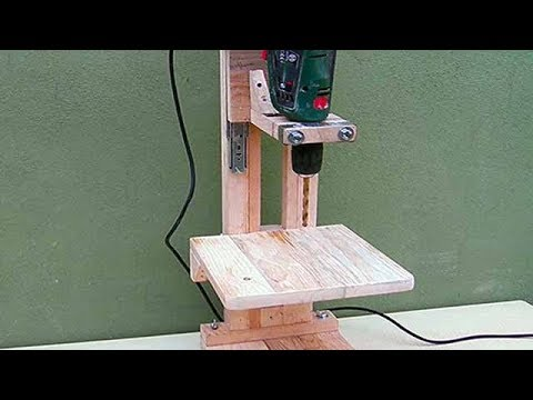 Ev Yapımı Matkap Sehpası  - Pt1: / 4 in 1 Drill Press Build - The Drill Press / Homemade