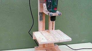Ev Yapımı Matkap Sehpası  - Pt1: / 4 in 1 Drill Press Build - The Drill Press / Homemade