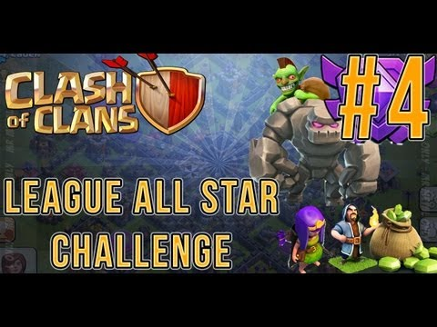 Clash Of Clans League All Star 2000 Trophies Episode 4