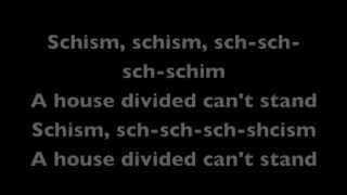 schism by anthrax lyrics