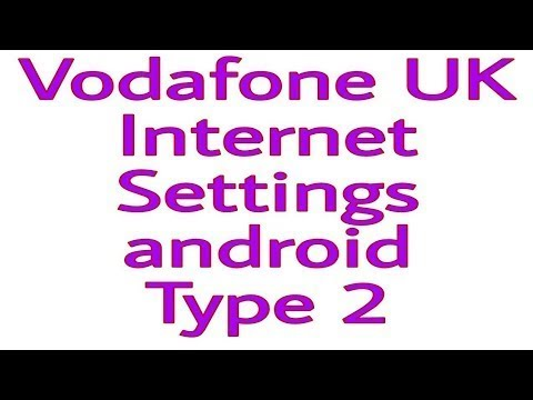 Vodafone UK  Wap APN Mobile Data And MMS Internet Settings In 2 Min On Any Android Device