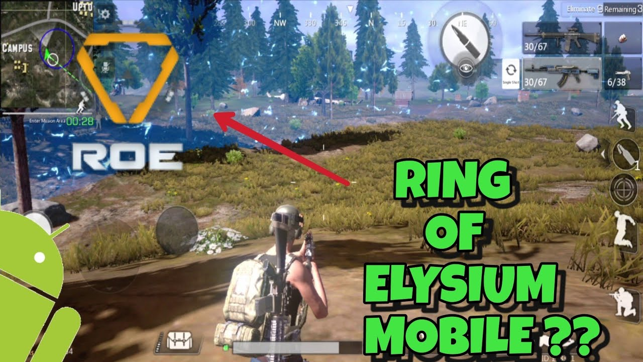Ring Of Elysium MOBILE ?? + The Las Survivor Gameplay Ph