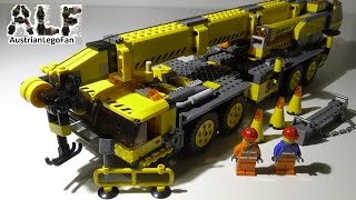 Lego City 7249 XXL Mobile Crane / Mobiler Baukran - Lego Speed Build Review