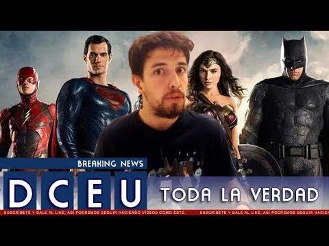 LA HISTORIA DEL DC EXTENDED UNIVERSE Y EL FUTURO DE LAS PELÍCULAS DE DC COMICS
