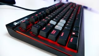 Corsair STRAFE Mechanical Keyboard Full Review