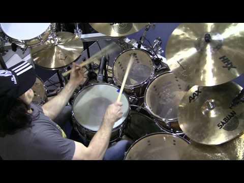Virgil Donati - Clinic Highlights from Ken Stanton Music in Atlanta