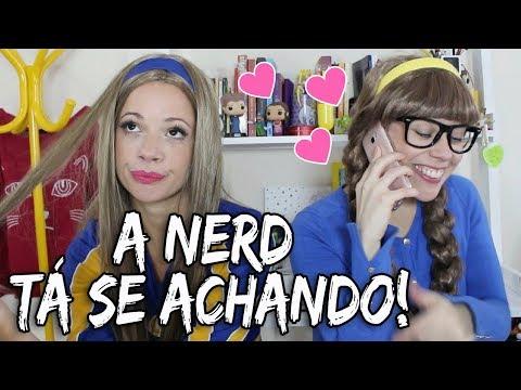 MINHA IRMÃ NERD TÁ SE ACHANDO !!! by Ashley