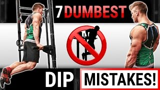 7 Dumbest Tricep Dip Mistakes Sabotaging Your Triceps Growth! | STOP DOING THESE!