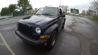 4K Review 2006 Jeep Liberty Renegade 4x4 Virtual Test-Drive and Walk around