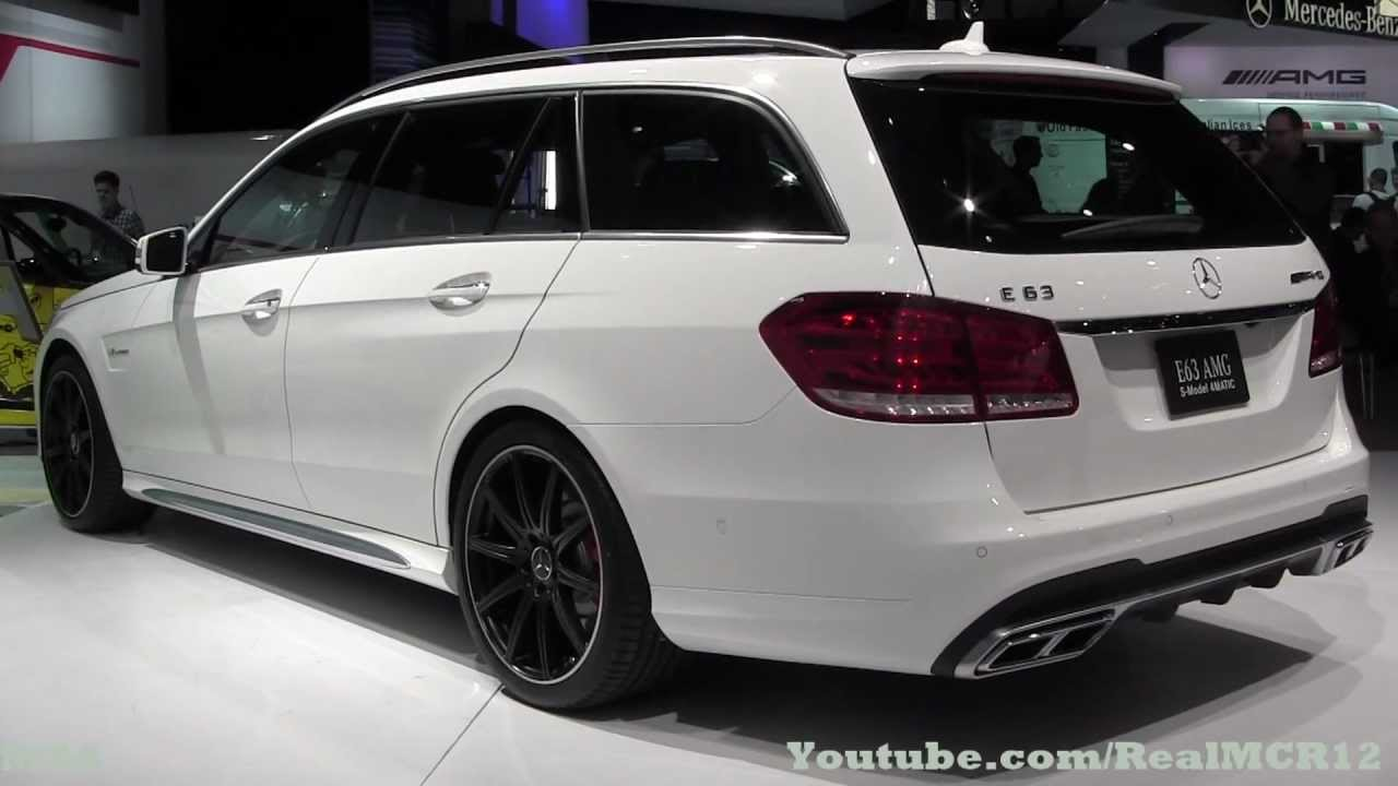 2014 mercedes-benz e63 amg s model 4matic v8 biturbo - nyias - youtube