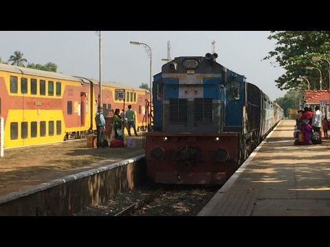 Madgaon - Nagpur Special Train Crossing GOA AC Double Decker Express : Konkan Railways