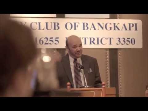 Matin Armstrong 2012 Bangkok Rotary Club Lunch Speech