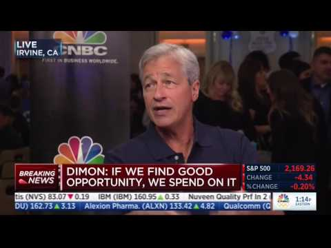 Jamie Dimon: Both Clinton & Trump Agree Glass Steagall Had Nothing To Do With The 08 Crisis