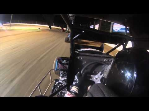 Micro Sprint In-Car at Doe Run Raceway 6-26-15