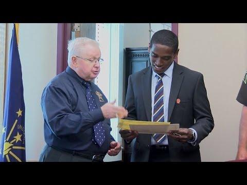 Tippecanoe County swears in new deputy