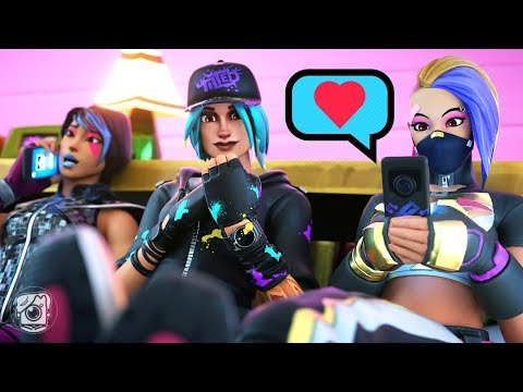 GIRLS OF SEASON X SLEEPOVER?! (A Fortnite Short Film)